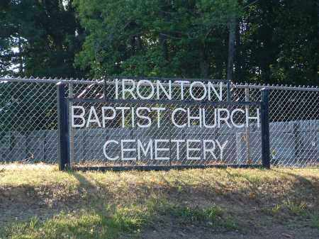 *IRONTON BAPTIST CHURCH CEMETE,  - Pulaski County, Arkansas |  *IRONTON BAPTIST CHURCH CEMETE - Arkansas Gravestone Photos