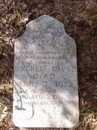 IRVEN, RACHEL - Pulaski County, Arkansas | RACHEL IRVEN - Arkansas Gravestone Photos