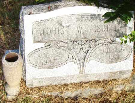 ISBELL, LOUISE W. - Pulaski County, Arkansas | LOUISE W. ISBELL - Arkansas Gravestone Photos