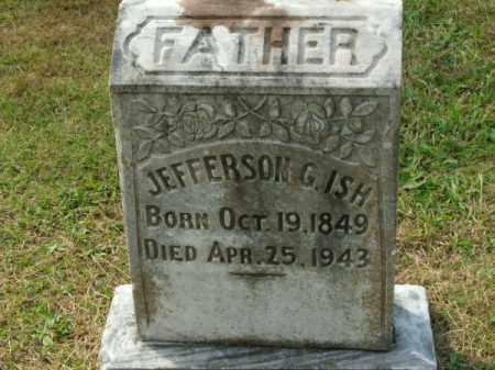 ISH, JEFFERSON G - Pulaski County, Arkansas | JEFFERSON G ISH - Arkansas Gravestone Photos