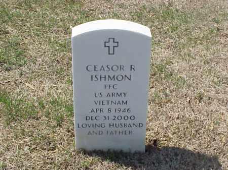 ISHMON (VETERAN VIET), CEASOR R - Pulaski County, Arkansas | CEASOR R ISHMON (VETERAN VIET) - Arkansas Gravestone Photos