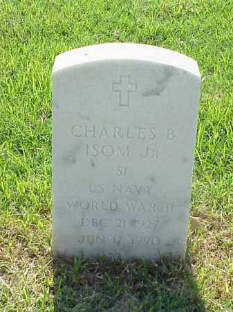 ISOM, JR (VETERAN WWII), CHARLES B - Pulaski County, Arkansas | CHARLES B ISOM, JR (VETERAN WWII) - Arkansas Gravestone Photos
