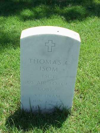 ISOM (VETERAN 2 WARS), THOMAS C - Pulaski County, Arkansas | THOMAS C ISOM (VETERAN 2 WARS) - Arkansas Gravestone Photos