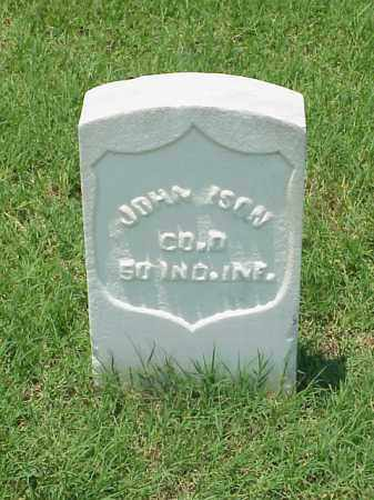 ISON (VETERAN UNION), JOHN - Pulaski County, Arkansas | JOHN ISON (VETERAN UNION) - Arkansas Gravestone Photos