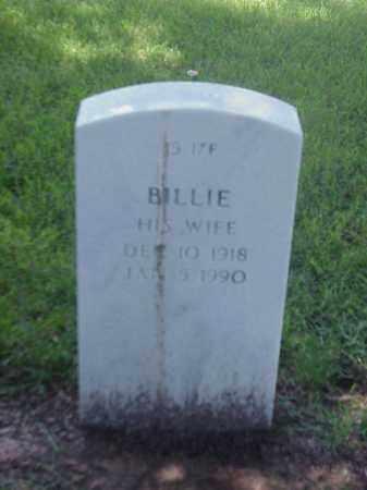 ITSON, BILLIE - Pulaski County, Arkansas | BILLIE ITSON - Arkansas Gravestone Photos