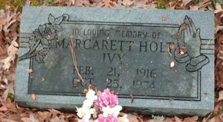 HOLT IVY, MARGARETT - Pulaski County, Arkansas | MARGARETT HOLT IVY - Arkansas Gravestone Photos