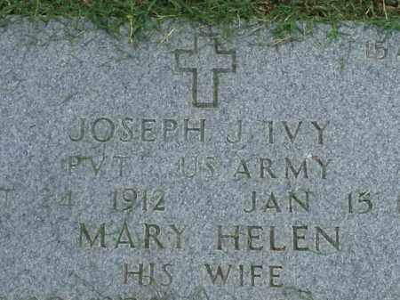 IVY, MARY HELEN - Pulaski County, Arkansas | MARY HELEN IVY - Arkansas Gravestone Photos