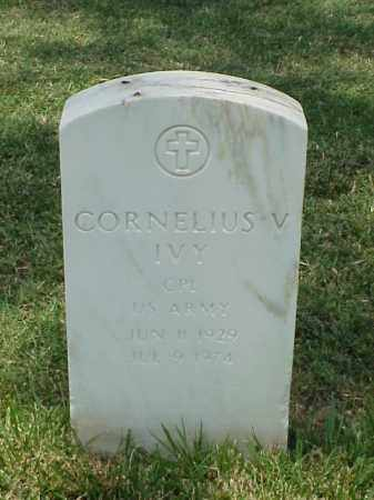 IVY (VETERAN KOR), CORNELIUS V - Pulaski County, Arkansas | CORNELIUS V IVY (VETERAN KOR) - Arkansas Gravestone Photos