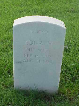 JACKMAN, EDNA H. - Pulaski County, Arkansas | EDNA H. JACKMAN - Arkansas Gravestone Photos