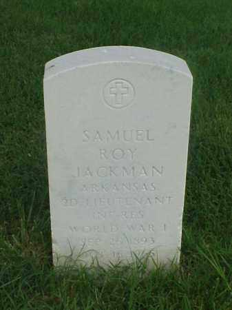JACKMAN (VETERAN WWI), SAMUEL ROY - Pulaski County, Arkansas | SAMUEL ROY JACKMAN (VETERAN WWI) - Arkansas Gravestone Photos