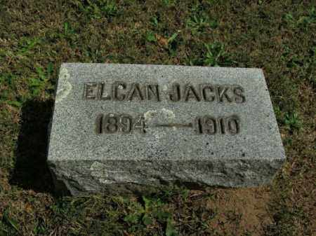 JACKS, ELCAN - Pulaski County, Arkansas | ELCAN JACKS - Arkansas Gravestone Photos