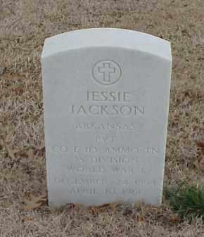 JACKSON  (VETERAN WWI), JESSIE - Pulaski County, Arkansas | JESSIE JACKSON  (VETERAN WWI) - Arkansas Gravestone Photos