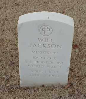 JACKSON  (VETERAN WWI), WILL - Pulaski County, Arkansas | WILL JACKSON  (VETERAN WWI) - Arkansas Gravestone Photos