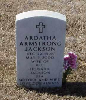 ARMSTRONG JACKSON, ARDATHA - Pulaski County, Arkansas | ARDATHA ARMSTRONG JACKSON - Arkansas Gravestone Photos