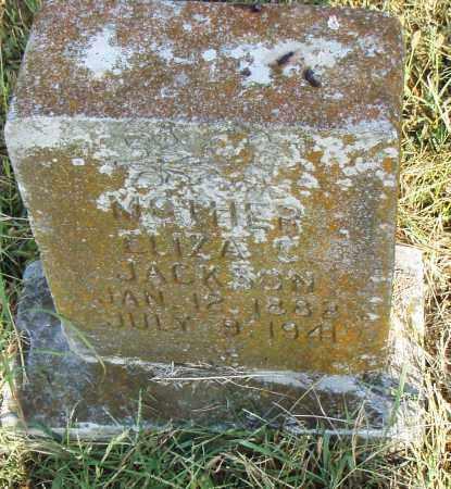 JACKSON, ELIZA C - Pulaski County, Arkansas | ELIZA C JACKSON - Arkansas Gravestone Photos