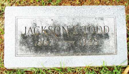 JACKSON, E. TODD - Pulaski County, Arkansas | E. TODD JACKSON - Arkansas Gravestone Photos