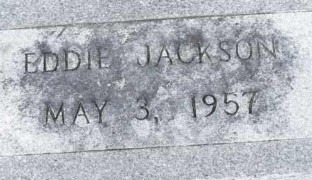 JACKSON, EDDIE - Pulaski County, Arkansas | EDDIE JACKSON - Arkansas Gravestone Photos