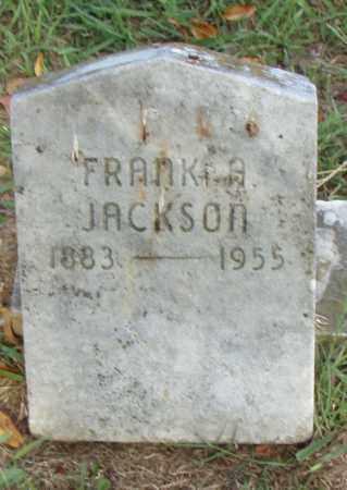 JACKSON, FRANK A. - Pulaski County, Arkansas | FRANK A. JACKSON - Arkansas Gravestone Photos