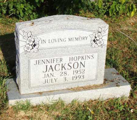 HOPKINS JACKSON, JENNIFER - Pulaski County, Arkansas | JENNIFER HOPKINS JACKSON - Arkansas Gravestone Photos