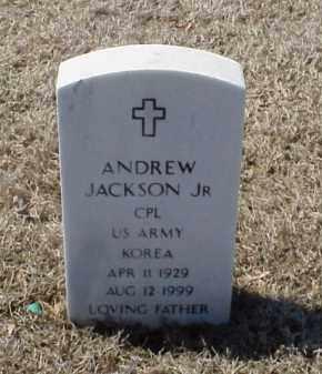 JACKSON, JR (VETERAN KOR), ANDREW - Pulaski County, Arkansas | ANDREW JACKSON, JR (VETERAN KOR) - Arkansas Gravestone Photos