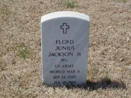 JACKSON, JR (VETERAN WWII), FLOYD JUNIUS - Pulaski County, Arkansas | FLOYD JUNIUS JACKSON, JR (VETERAN WWII) - Arkansas Gravestone Photos