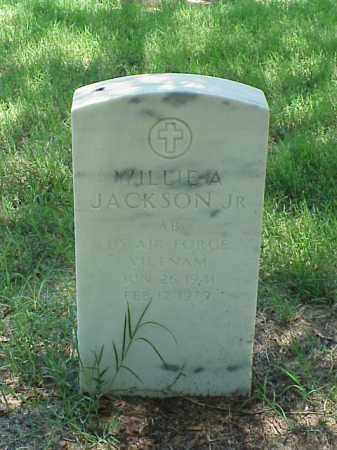 JACKSON, JR (VETERAN VIET), WILLIE A - Pulaski County, Arkansas | WILLIE A JACKSON, JR (VETERAN VIET) - Arkansas Gravestone Photos