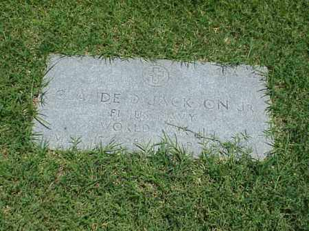 JACKSON, JR (VETERAN WWII), CLAUDE D - Pulaski County, Arkansas | CLAUDE D JACKSON, JR (VETERAN WWII) - Arkansas Gravestone Photos