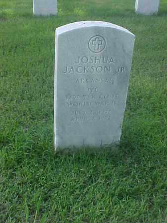 JACKSON, JR (VETERAN WWII), JOSHUA - Pulaski County, Arkansas | JOSHUA JACKSON, JR (VETERAN WWII) - Arkansas Gravestone Photos