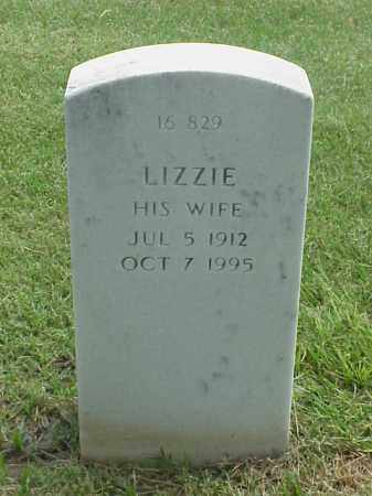 JACKSON, LIZZIE - Pulaski County, Arkansas | LIZZIE JACKSON - Arkansas Gravestone Photos