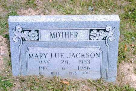 JACKSON, MARY LUE - Pulaski County, Arkansas | MARY LUE JACKSON - Arkansas Gravestone Photos