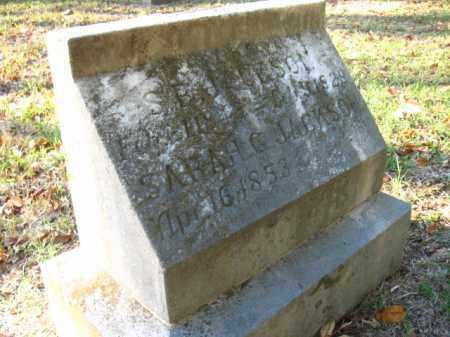 JACKSON, SARAH G. - Pulaski County, Arkansas | SARAH G. JACKSON - Arkansas Gravestone Photos