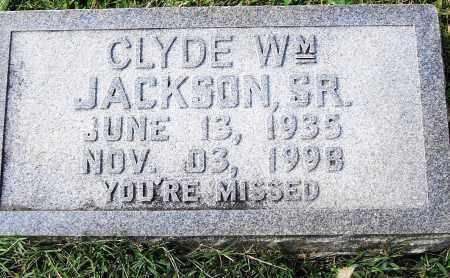 JACKSON, SR, CLYDE WILLIAM - Pulaski County, Arkansas | CLYDE WILLIAM JACKSON, SR - Arkansas Gravestone Photos
