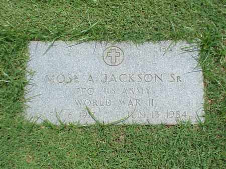 JACKSON, SR (VETERAN WWII), MOSE A - Pulaski County, Arkansas | MOSE A JACKSON, SR (VETERAN WWII) - Arkansas Gravestone Photos