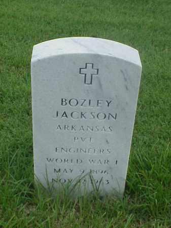 JACKSON (VETERAN WWI), BOZLEY - Pulaski County, Arkansas | BOZLEY JACKSON (VETERAN WWI) - Arkansas Gravestone Photos
