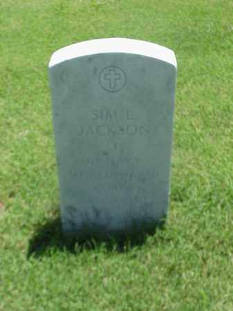 JACKSON (VETERAN 2 WARS), SIM L - Pulaski County, Arkansas | SIM L JACKSON (VETERAN 2 WARS) - Arkansas Gravestone Photos