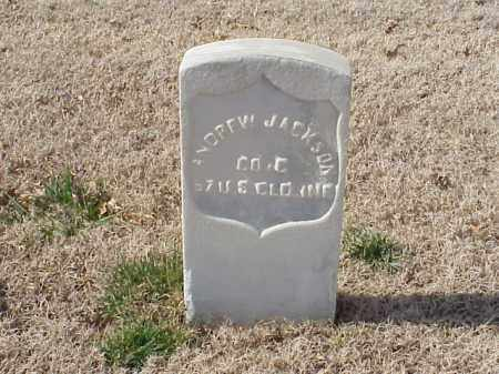 JACKSON (VETERAN UNION), ANDREW - Pulaski County, Arkansas | ANDREW JACKSON (VETERAN UNION) - Arkansas Gravestone Photos