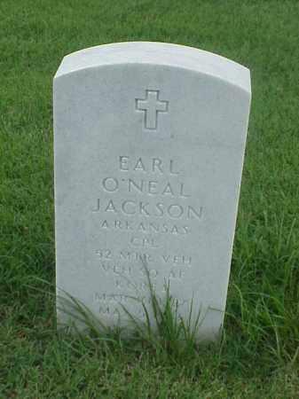 JACKSON (VETERAN KOR), EARL O'NEAL - Pulaski County, Arkansas | EARL O'NEAL JACKSON (VETERAN KOR) - Arkansas Gravestone Photos