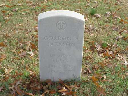 JACKSON (VETERAN KOR), GORDON D - Pulaski County, Arkansas | GORDON D JACKSON (VETERAN KOR) - Arkansas Gravestone Photos
