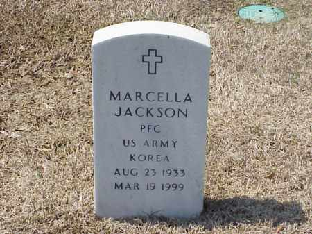 JACKSON (VETERAN KOR), MARCELLA - Pulaski County, Arkansas | MARCELLA JACKSON (VETERAN KOR) - Arkansas Gravestone Photos