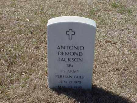 JACKSON (VETERAN PGW), ANTONIO DEMOND - Pulaski County, Arkansas | ANTONIO DEMOND JACKSON (VETERAN PGW) - Arkansas Gravestone Photos