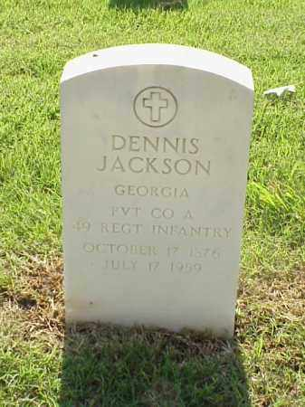 JACKSON (VETERAN SAW), DENNIS - Pulaski County, Arkansas | DENNIS JACKSON (VETERAN SAW) - Arkansas Gravestone Photos