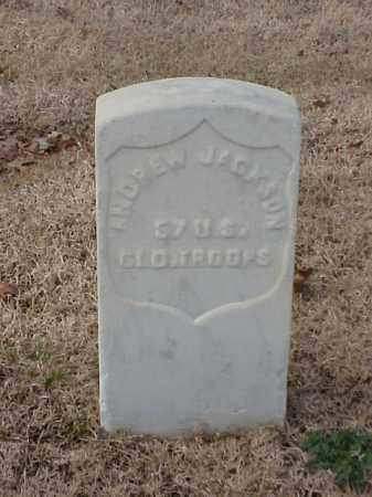 JACKSON (VETERAN UNION), ANDREW - Pulaski County, Arkansas | ANDREW JACKSON (VETERAN UNION) - Arkansas Gravestone Photos