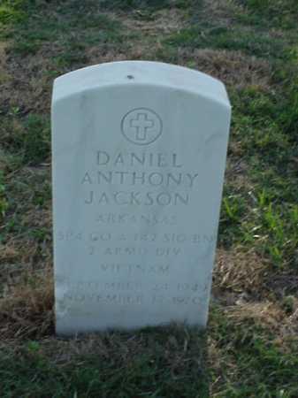 JACKSON (VETERAN VIET), DANIEL ANTHONY - Pulaski County, Arkansas | DANIEL ANTHONY JACKSON (VETERAN VIET) - Arkansas Gravestone Photos