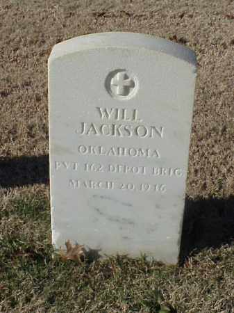 JACKSON (VETERAN), WILL - Pulaski County, Arkansas | WILL JACKSON (VETERAN) - Arkansas Gravestone Photos