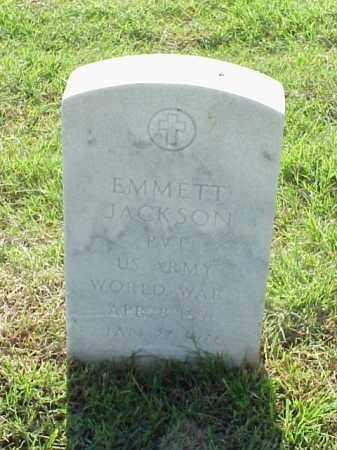 JACKSON (VETERAN WWI), EMMETT - Pulaski County, Arkansas | EMMETT JACKSON (VETERAN WWI) - Arkansas Gravestone Photos