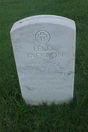 JACKSON (VETERAN WWI), FELIX - Pulaski County, Arkansas | FELIX JACKSON (VETERAN WWI) - Arkansas Gravestone Photos