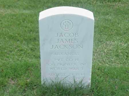 JACKSON (VETERAN WWI), JACOB JAMES - Pulaski County, Arkansas | JACOB JAMES JACKSON (VETERAN WWI) - Arkansas Gravestone Photos