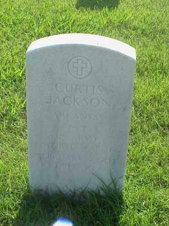 JACKSON (VETERAN WWII), CURTIS - Pulaski County, Arkansas | CURTIS JACKSON (VETERAN WWII) - Arkansas Gravestone Photos
