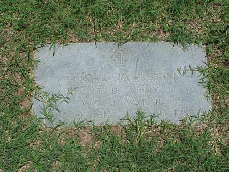JACKSON (VETERAN WWII), ELISHA - Pulaski County, Arkansas | ELISHA JACKSON (VETERAN WWII) - Arkansas Gravestone Photos