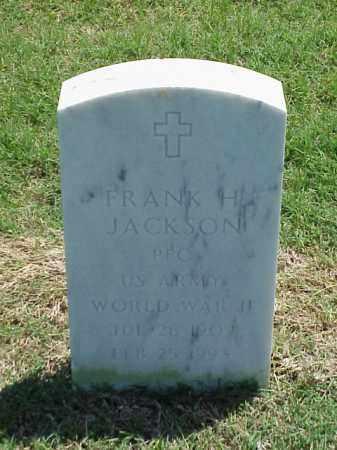 JACKSON (VETERAN WWII), FRANK H - Pulaski County, Arkansas | FRANK H JACKSON (VETERAN WWII) - Arkansas Gravestone Photos